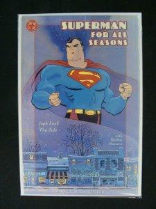 Superman for all Seasons #4 Winter Jeph Loeb Tim Sale DC Comics Prestige Format