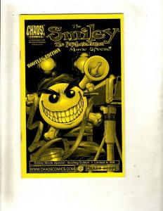 8 Comics Smiley Movie Special 1 Whacky Wrestling 1 Psychotic Button 1 +MORE  HY3
