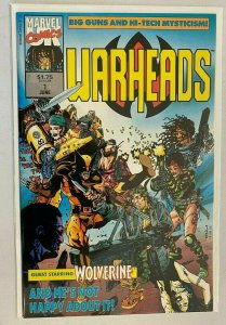 Warheads #1 first issue 8.0 VF (1992)