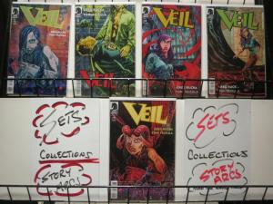 VEIL (2014 DH) 1-5  Greg Rucka  COMPLETE!