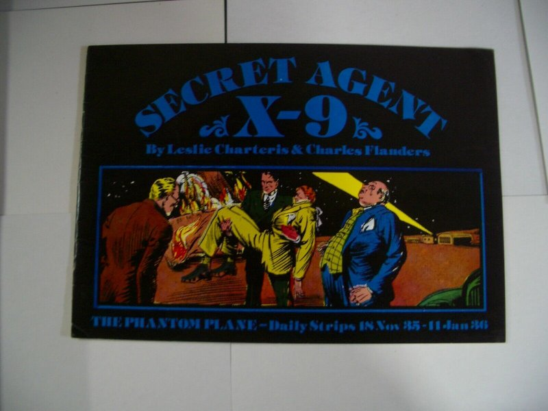 SECRET AGENT X-9 11/18/35-01/11/36 REPRINTING FLANDERS VG