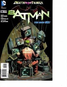 Batman (2011) #14 VF (8.0) New 52 Signed Scott Snyder