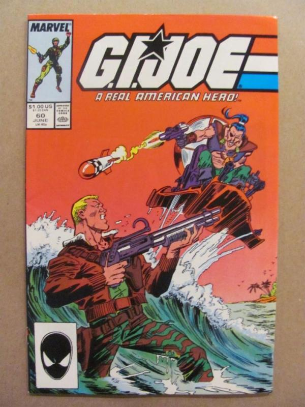 GI JOE #60, VF/NM, Marvel, Larry Hama, Todd McFarlane, 1982 1987, War