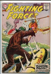 OUR FIGHTING FORCES #28 1957-DC-JOE KUBERT-MORT DRUCKER-RUSS HEATH-fn+