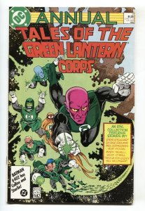 Tales of the Green Lantern Corps Annual #2 1986 1st Sodam Yat