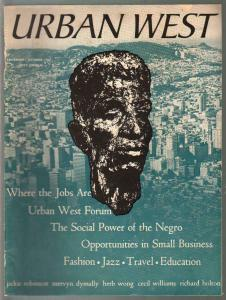 Urban West #1 9/1947-1st issue-Social Power Of The Negro-Jackie Robinson-G/VG