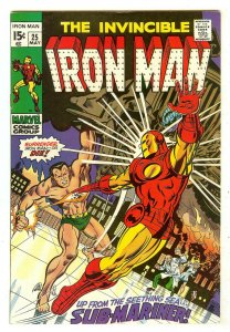 Iron Man 25   Iron Man vs Sub-Mariner