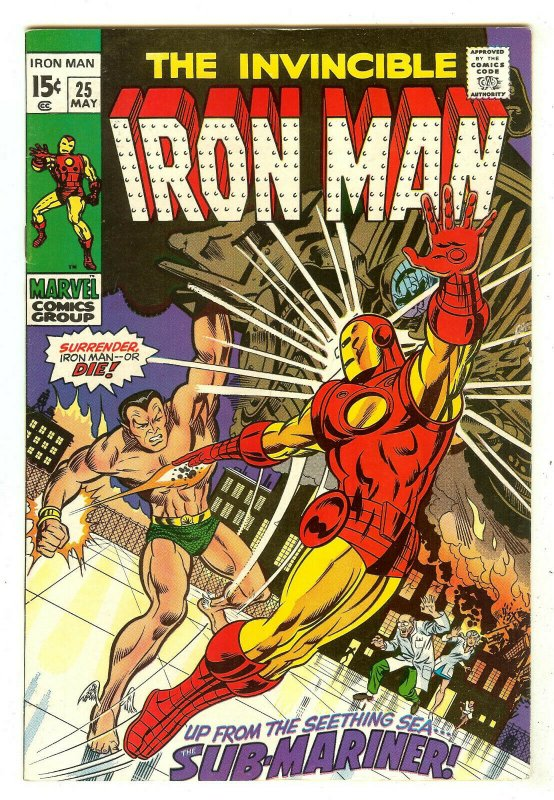 Iron Man 25   Iron Man vs Sub-Mariner