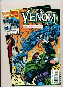 MARVEL Great LOT! VENOM THE MACE Part 1 & 2  NM (PJ62)