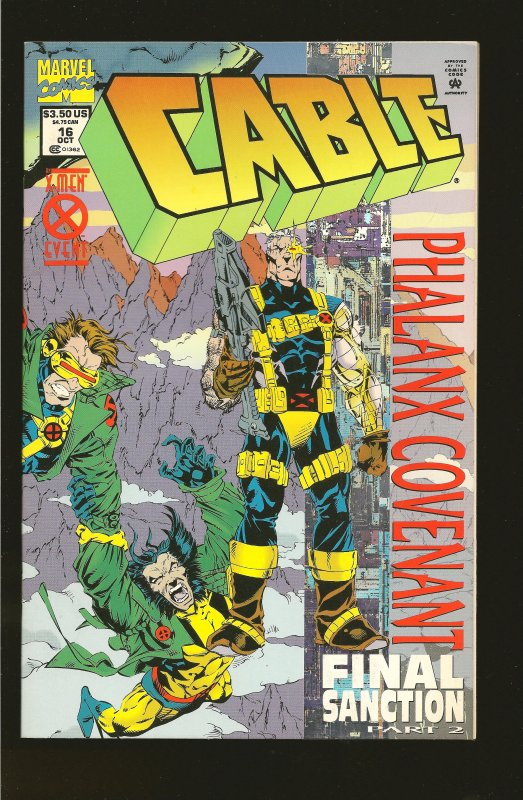 Marvel Comics Cable #16 (1994)