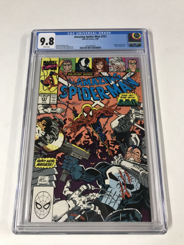 Amazing Spider-Man #331 CGC 9.8