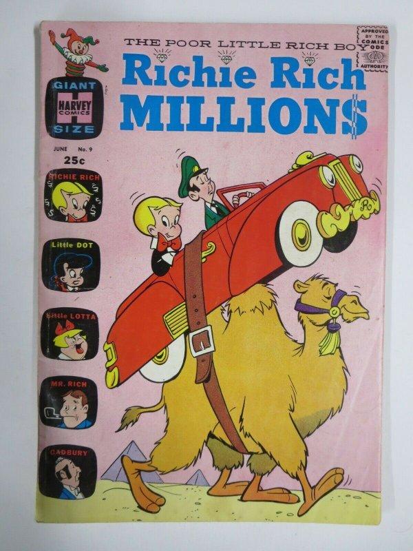 RICHIE RICH MILLIONS #9 (Harvey,6/1964) VERY GOOD MINUS  (VG-)