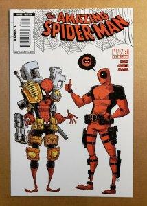 AMAZING SPIDER-MAN #611 1/10 DEADPOOL  SKOTTIE YOUNG COVER