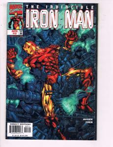 The Invincible Iron Man # 3 VF/NM Marvel Comic Books Avengers Thor Hawkeye! SW14