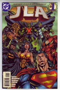 JLA #1 (Jan-97) NM+ Super-High-Grade Justice League of America