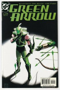 Green Arrow #14 August 2002 DC Kevin Smith Phil Hester Ande Parks