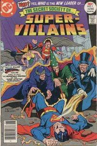 Secret Society of Super-Villains #7, VG- (Stock photo)
