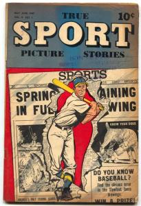 True Sport Picture Stories Vol 4 #1 1947- Golden Age VG