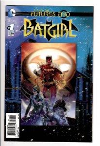 BATGIRL #1 FUTURES END 3D 9.8 1st TIFFANY FOX BATGIRL