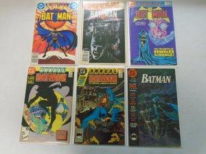 Batman + Detective Comics Annuals 18 different 8.0 VF (1982-96)