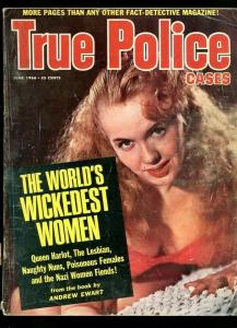 TRUE POLICE CASES-06/1966-CRIMELIGHT-LADY X-WICKEDEST-LOVE TRIANGLE VG