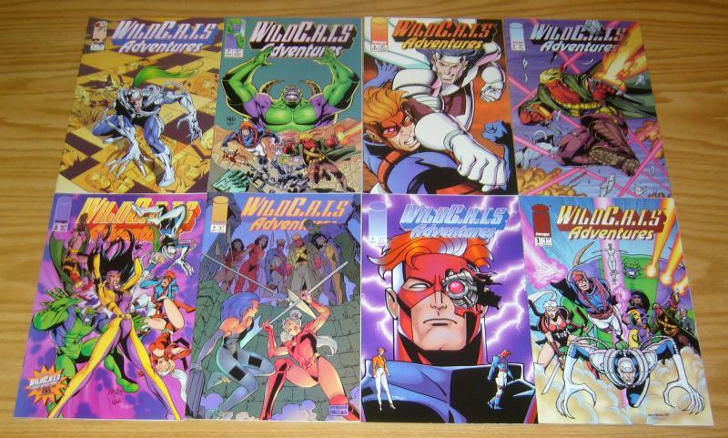 Wildcats Adventures #1-10 VF/NM complete series + sourcebook - image comics set