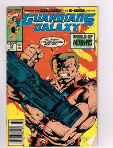 Guardians Of The Galaxy #10 VG/FN Marvel Comics Comic Book Mar 1991 DE42