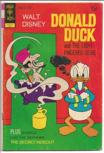 Donald Duck, #143 - Bronze Age - May 1972 (VG)