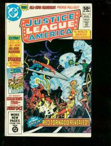 JUSTICE LEAGUE OF AMERICA #193, VF/NM, All-Star Squadron, Red Tornado, DC 1981