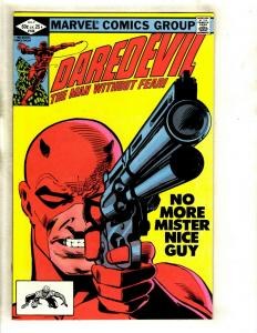Daredevil # 184 NM Marvel Comic Book Foggy Karen Avengers Defenders Owl GK2
