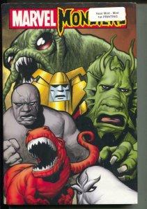 Marvel Monsters-Sealed Hardcover