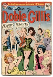 The Many Loves Of Dobie Gillis #3 1960- top GGA art cover