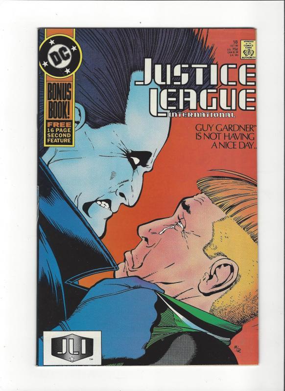 Justice League International #18 1987 DC Comics Copper Age  NM