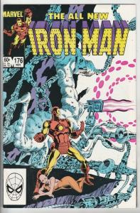 Iron Man #176 (Nov-83) NM+ Super-High-Grade Iron Man