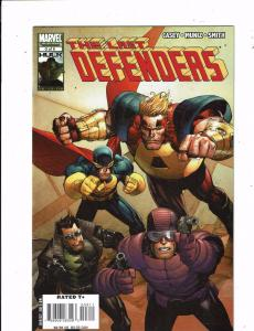 Lot of 3 The Last Defenders Marvel Comic Books #3 4 5 Nighthawk  MS11