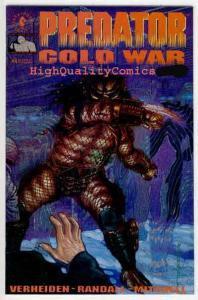 PREDATOR :COLD WAR #4, NM+, Hunter, Monster, Beast, Movie, more Horror in store