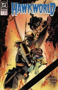 HAWKWORLD #4, NM+, Timothy Truman, 1990, Hawkgirl, more DC in store