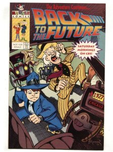 Back To The Future Special 1991-Harvey-FRee Comic Book Day issue-based on TV ...