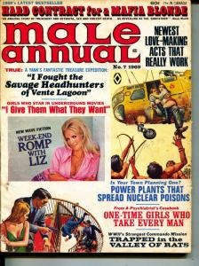 Male Annual-1969-Pussycat-Treasure-UFO's-Sex-Adventure
