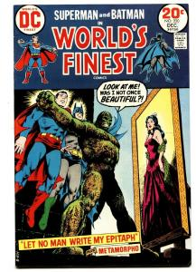 WORLDS FINEST #220 comic book 1972 DC batman Superman