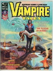 Vampire Tales #10 (1973) - 8.0 VF *Morbius/Blade/Feast of Blood*