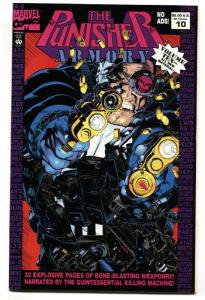 Punisher Armory #10-1994 Scarce Low distribution Marvel