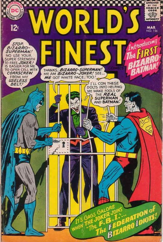 World's Finest Comics #156 VG; DC | low grade comic - save on shipping - details