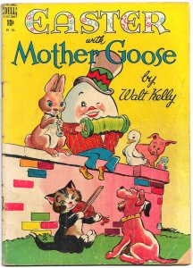EASTER WITH MOTHER GOOSE (Four Color #185 1948) 5.5 FN- 52 pgs of Walt Kelly!