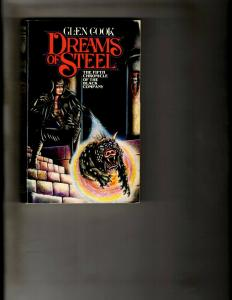 3 Tor Books The Silver Spike, Dreams of Steel, Shadows Linger J392