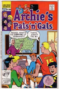 Archie's Pals 'n' Gals   #212 GD/VG