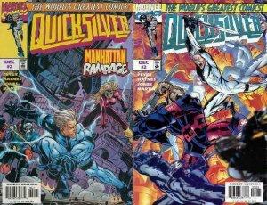 QUICKSILVER (1997) 2,2A  set of both!