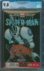 Surperior Spider-Man #8 CGC Graded 9.8