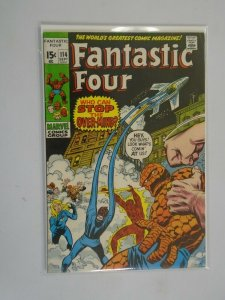 Fantastic Four #114 5.0 VG FN (1971 1st Series)