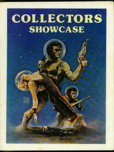 Collector's Showcase Art Catalog 1975- Rare reference comic book art